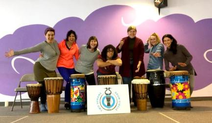 Community Drum Circle ~ August 18th - 9 am - 10 am ~ Sodus Community Library Front Lawn~ Fun with drum! Two Herons Drum Circle from Geneva is coming to Zeal Center for Learning to share the many benifits of community drumming! Come join us and jam out in a big drum circle! Drums provided or BYOD, NO EXPERIENCE REQUIRED! Two Herons facilitator, Adam Fryer, will teach participants how to play, have fun and promote wellness with drums by playing group rhythm games, teaching traditional African rhythms and drum meditation! FREE EVENT! Suggested donation of $5 Don't miss out on the fun! All Ages welcome!